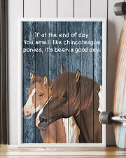 Poster You Smell Like - Chincoteague Pony 11x17 Poster lifestyle-poster-4