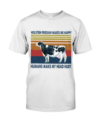 Vintage Make Me Happy - Holstein Friesian