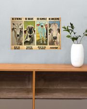 Poster Vintage Be Strong - Brahman 17x11 Poster poster-landscape-17x11-lifestyle-24