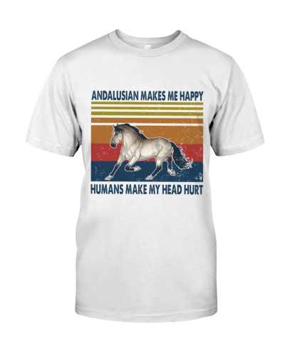 Vintage Make Me Happy - Andalusian