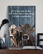 Poster You Smell Like - Brown Swiss 11x17 Poster lifestyle-poster-2