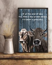 Poster You Smell Like - Brown Swiss 11x17 Poster lifestyle-poster-3
