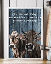 Poster You Smell Like - Brown Swiss 11x17 Poster lifestyle-poster-4