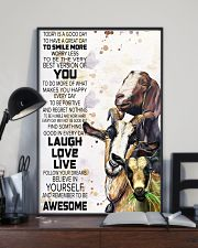 Today Is A Good Day - Goat 11x17 Poster lifestyle-poster-2
