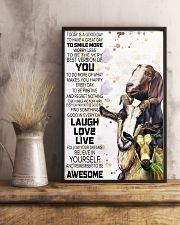 Today Is A Good Day - Goat 11x17 Poster lifestyle-poster-3