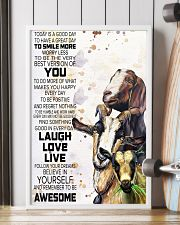 Today Is A Good Day - Goat 11x17 Poster lifestyle-poster-4