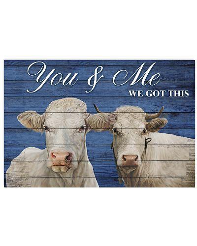 Poster You and Me - Charolais