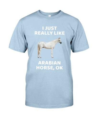 I JUST REALLY LIKE ARABIAN HORSE