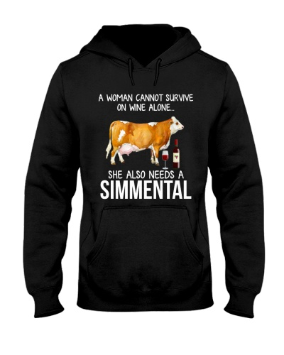 A WOMAN CAN NOT SURVIVE ALONE-SIMMENTAL