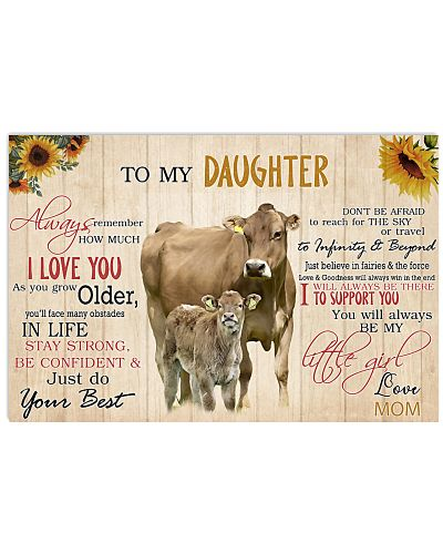 Poster To My Daughter - Brown Swiss