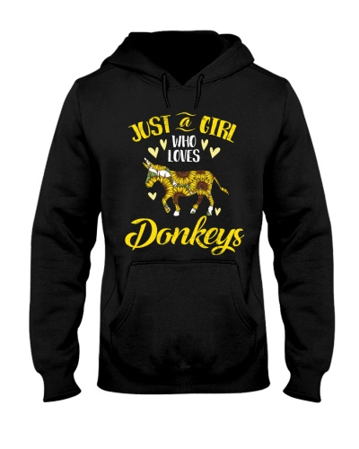 Just A Girl Who Loves Donkeys