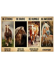 Poster Vitorious Everyday - Haflinger 17x11 Poster front