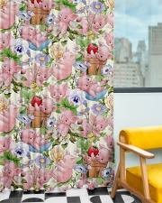 Pig Lovers Window Curtain - Blackout aos-window-curtains-blackout-50x84-lifestyle-front-01