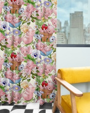 Pig Lovers Window Curtain - Blackout aos-window-curtains-blackout-50x84-lifestyle-front-03