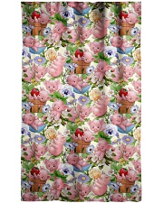 Pig Lovers Window Curtain - Blackout front