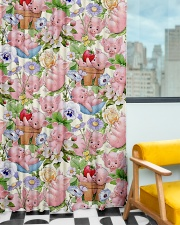 Pigs Lovers Window Curtain - Blackout aos-window-curtains-blackout-50x84-lifestyle-front-01