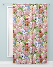 Pigs Lovers Window Curtain - Blackout aos-window-curtains-blackout-50x84-lifestyle-front-04