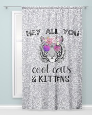 Cool Cats and Kittens Window Curtain - Blackout aos-window-curtains-blackout-50x84-lifestyle-front-04