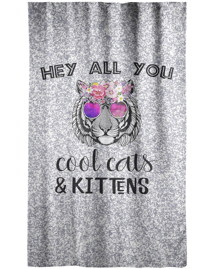 Cool Cats and Kittens Window Curtain - Blackout