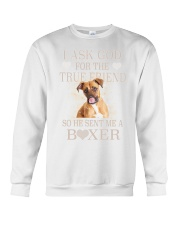 Boxer Lovers Crewneck Sweatshirt thumbnail