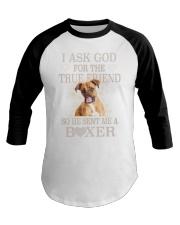 Boxer Lovers Baseball Tee thumbnail