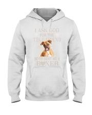 Boxer Lovers Hooded Sweatshirt thumbnail