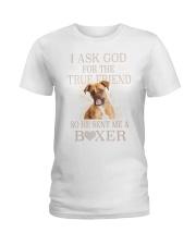 Boxer Lovers Ladies T-Shirt thumbnail