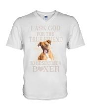 Boxer Lovers V-Neck T-Shirt thumbnail