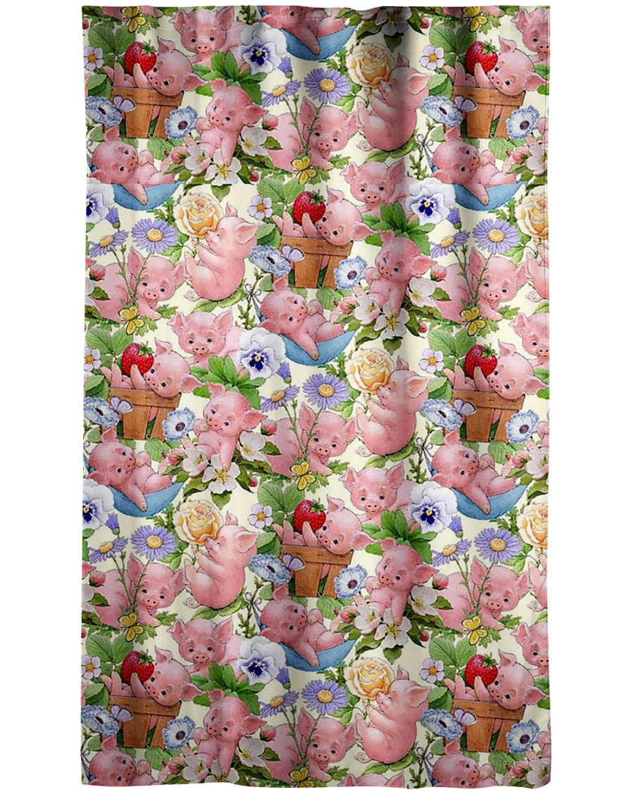 Pig Lovers Window Curtain - Blackout