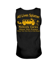 All Lives Splatter Nobody Cares Unisex Tank thumbnail