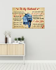 To My Husband 36x24 Poster poster-landscape-36x24-lifestyle-01