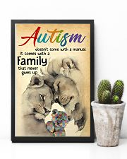 Autism doesn't come with a manual it comes with a  24x36 Poster lifestyle-poster-8