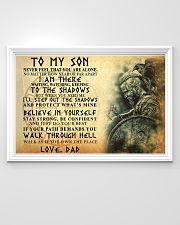 To My Son Never Feel That You Are Alone 36x24 Poster poster-landscape-36x24-lifestyle-02