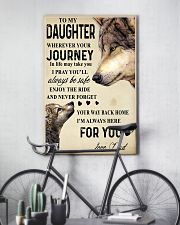 To My Daughter 24x36 Poster lifestyle-poster-7