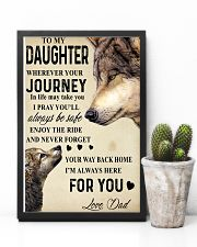 To My Daughter 24x36 Poster lifestyle-poster-8