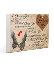 I choose You Gallery Wrapped Canvas Prints tile
