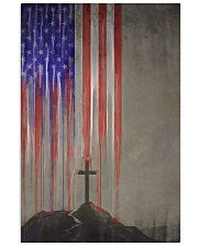flag cross 24x36 Poster front