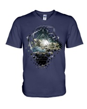 Light Geometry V-Neck T-Shirt thumbnail