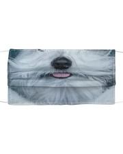 old English sheepdog Cloth face mask front