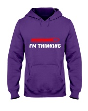 IM THINKING Hooded Sweatshirt thumbnail