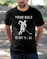 Your Hole Is My Goal Classic T-Shirt apparel-classic-tshirt-lifestyle-front-50