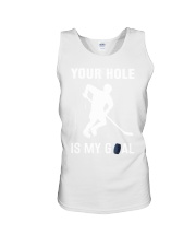 Your Hole Is My Goal Unisex Tank thumbnail