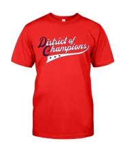 Champions District of Champions Shirt Classic T-Shirt front