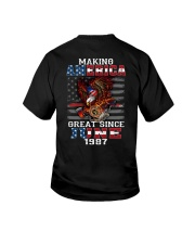 Making America Great since June 1987 Youth T-Shirt thumbnail