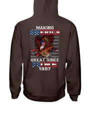 Making America Great since June 1987 Hooded Sweatshirt thumbnail