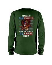 Making America Great since June 1987 Long Sleeve Tee thumbnail
