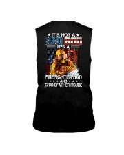 It's not a Dad bod It's a Firefighter Dad Sleeveless Tee thumbnail