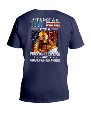 It's not a Dad bod It's a Firefighter Dad V-Neck T-Shirt thumbnail