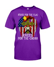 Firefighter Stand for the Flag Kneel for the Cross Classic T-Shirt tile