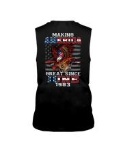 Making America Great since June 1983 Sleeveless Tee thumbnail